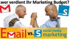 Marketing: E-Mail vs. Social – wer gewinnt?