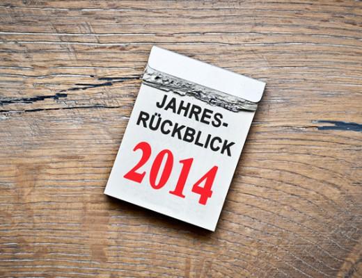 2014 - Das Jahr in Blogposts