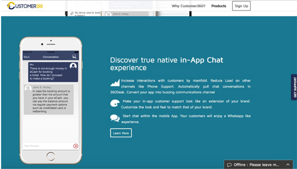 In-App Kundenservice mit viel Potential