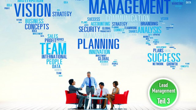 In 8 Schritten zu einem erfolgreichen Lead Management - Teil 3