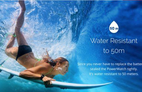 MATRIX PowerWatch: Betrieben mit Körperwärme