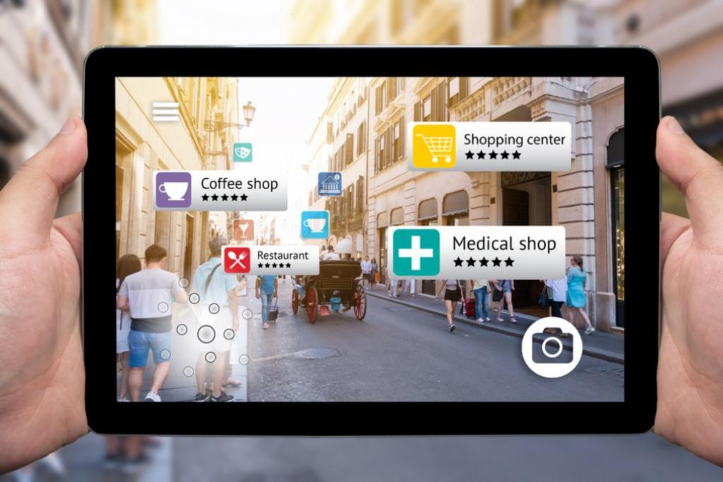 Augmented Reality in der intelligenten Stadt