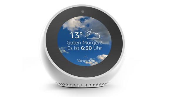 Smarter Service Gallery: Amazon Echo Spot
