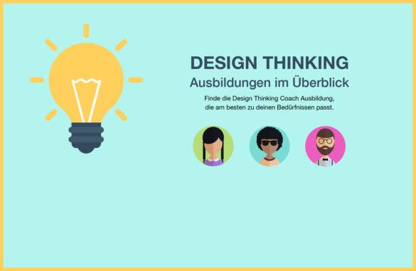 Ausbildungsvergleich für angehende Design Thinking Coaches