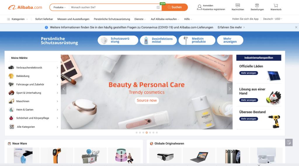 Kundenerlebnisse: Alibaba